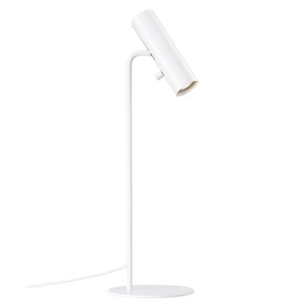 nowoczesna, minimalistyczna lampa stołowa