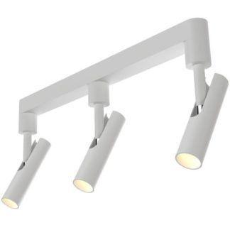 Potrójna lampa sufitowa - MIB - Nordlux - DFTP - biały metal