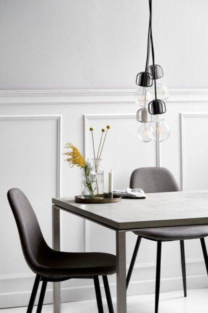 dekoracja światłem - aranżacja salon - zawieszenia do lamp, lampy minimalistyczne