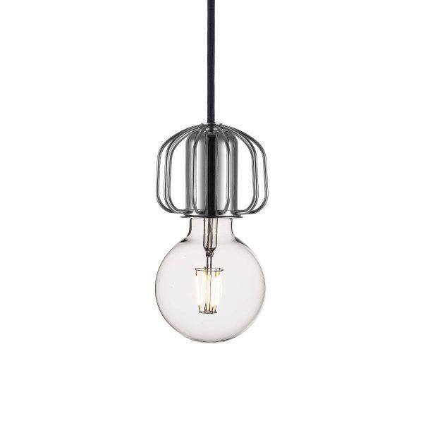 zawieszenie srebrne, chrom,nowoczesny design, dekoracja światłem