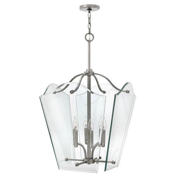 lampa wisząca, szklany lampion