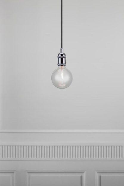 lampa wisząca industrialna, zawieszenie