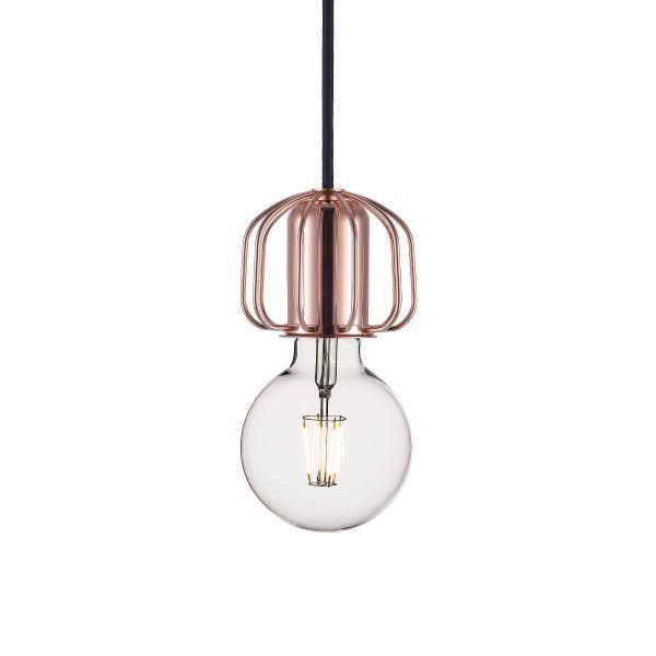 nowoczesne, miedziane zawieszenie do lamp, dekoracyjne