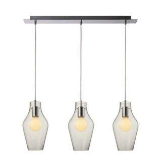 Lampa wisząca Goblet - Zuma Line - trzy transparentne klosze