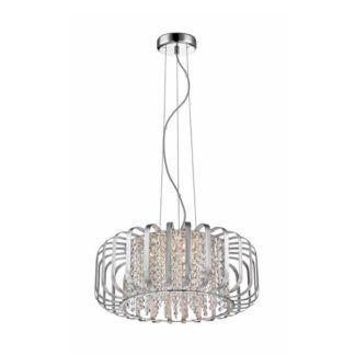 Elegancka lampa wisząca Kano - Zuma Line - styl glamour