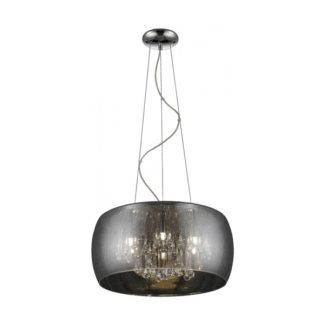 Lampa wisząca Rain - Zuma Line - barwione szkło, efekt kropli