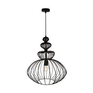 Oryginalna lampa wisząca Verto - Zuma Line - ażurowy klosz