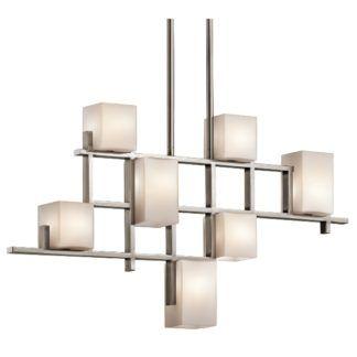 Nowoczesny żyrandol City Lights - Ardant Decor - geometryczny wzór