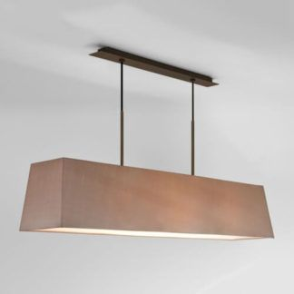 Lampa wisząca Rafina - Astro Lighting - brązowa
