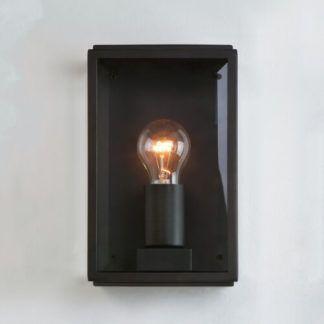 Szklany kinkiet Homefield - Astro Lighting - czarny