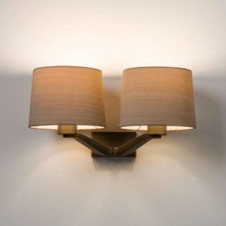 Elegancki kinkiet Montclair - Astro Lighting - dwa ramiona, brązowy