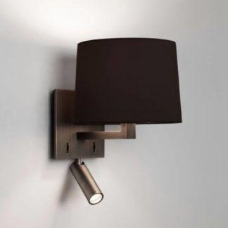 Stylowy kinkiet Azumi Reader - Astro Lighting - brązowy