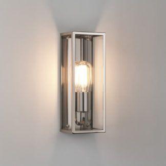 Szklany kinkiet Messina - Astro Lighting - polerowany nikiel