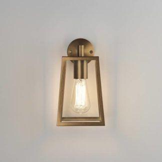 Szklany kinkiet Calvi - Astro Lighting - złota, metalowa rama