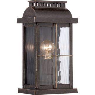 Kinkiet Cortland – Ardant Decor – brązowy, klasyczny