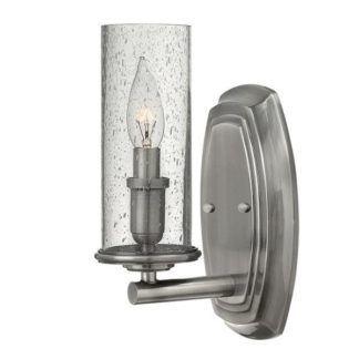 Kinkiet Dacota - Ardant Decor - srebrny, szklany