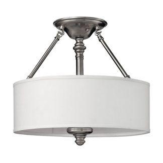 Lampa sufitowa Sussex – Ardant Decor - biały abażur