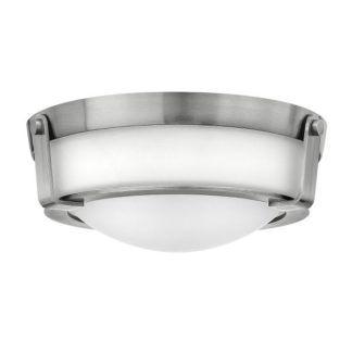 Szklany plafon Hathaway - Ardant Decor - mleczny klosz, srebrny