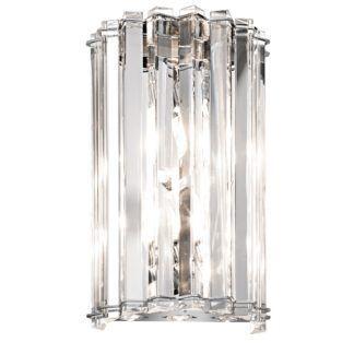 Lampa ścienna Crystal - Ardant Decor - kryształowy klosz