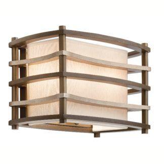 Oryginalny kinkiet Moxie – Ardant Decor – drewniane listewki