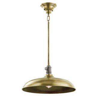 Lampa wisząca Cobson - Ardant Decor - złota, industrialna