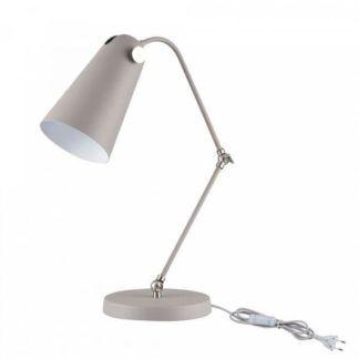 Nowoczesna lampa biurkowa Novara - Maytoni - szara