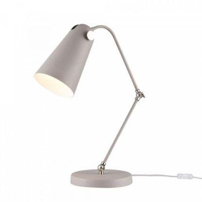 designerska lampa biurkowa w stylu nowoczesnym