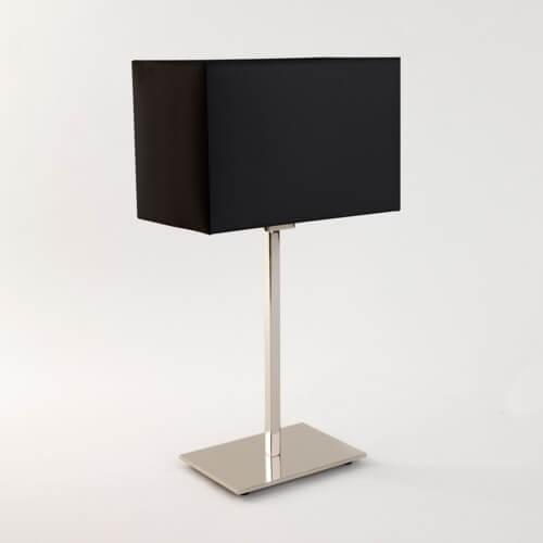 lampa stołowa nowoczesna - aranżacja sypialnia z żółtym kolorem
