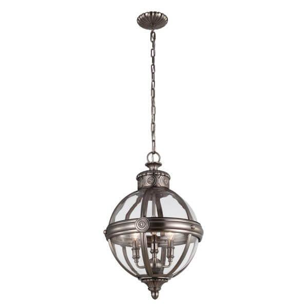 okrągła lampa wisząca gotycka