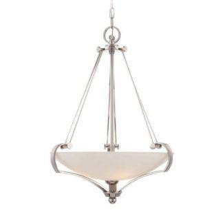 Elegancka klasyczna lampa wisząca Empire – Ardant Decor - biały klosz