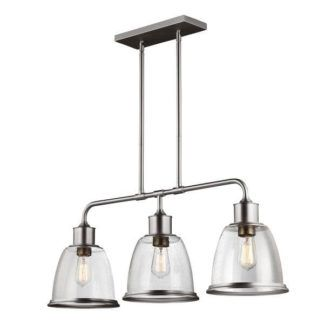 Potrójna lampa wisząca Hobson - Ardant Decor - szklane klosze