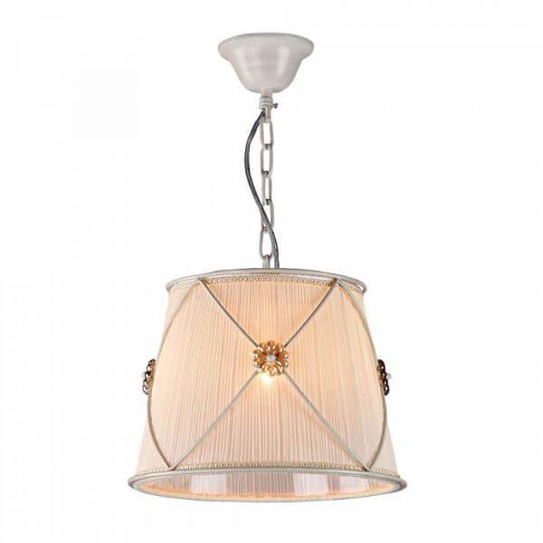 lampa wisząca w stylu klasycznym, shabby chic, dekoracyjne kwiatki