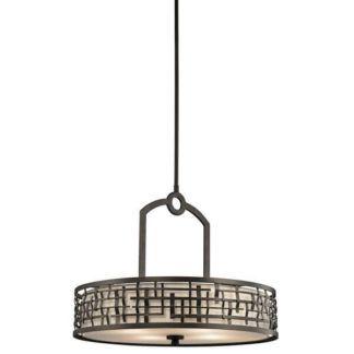 Elegancka lampa wisząca Loom - Ardant Decor - metalowy wzór