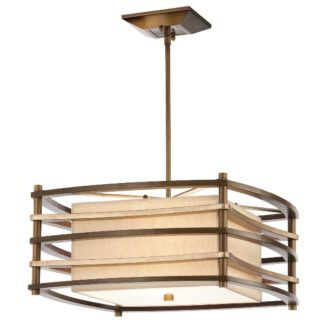 Oryginalna lampa wisząca Moxie – Ardant Decor – odcienie brązu