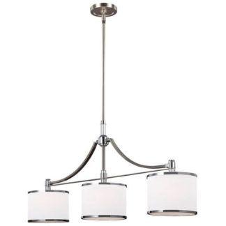 Elegancka lampa wisząca Prospect Park - Ardant Decor - białe klosze z abażurem