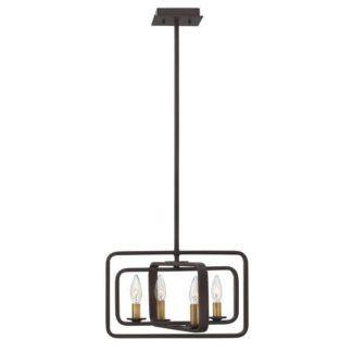 Oryginalna lampa wisząca Quentin - Ardant Decor - brąz