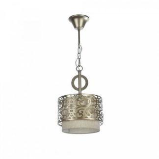 Okrągła lampa wisząca Venera - Maytoni - klasyczne złote zdobienia