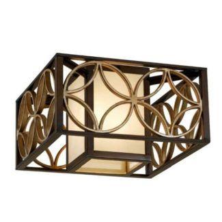 Lampa sufitowa Essex – Ardant Decor – brąz, złoto