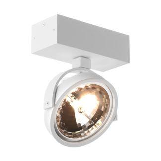 Biały reflektor sufitowy GO SL1 - Zuma Line - regulacja klosza