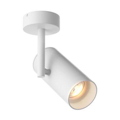 biały reflektor mobilny, lampa sufitowa