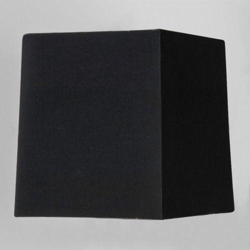 czarny abażur do lampy stołowej