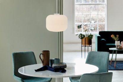 Nowoczesna lampa wisząca Milford 30 - Nordlux - szklany klosz