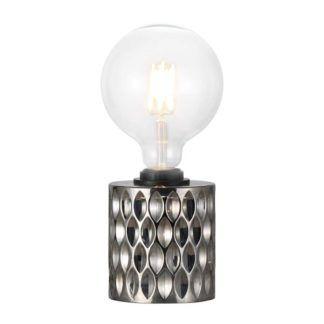 Oryginalna lampa stołowa Hollywood - Nordlux - odcienie szarości