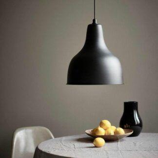 Czarna lampa Ames - Nordlux - metalowy klosz, scandi