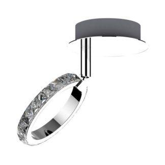 Designerska lampa Toledo - Zuma Line - spot, srebrna
