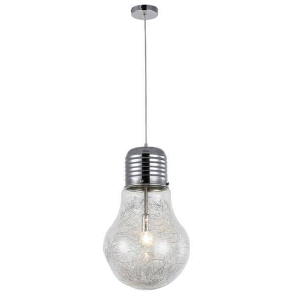 Oryginalna lampa wisząca Bulb – kształt żarówki, nowoczesna