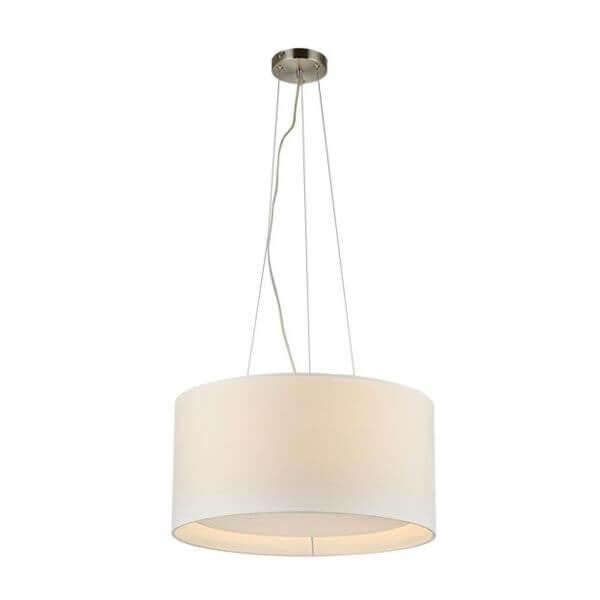 lampa wisząca z abażurem, jasna