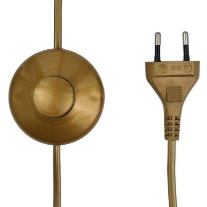 lampa podłogowa z nożnym włącznikiem , industrial