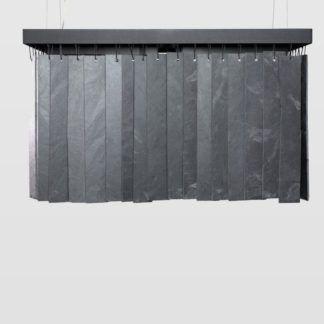 Lampa wisząca Rain - grafitowa, industrialna