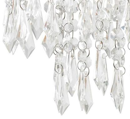 lampa wisząca glamour, kryształki